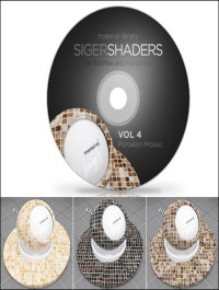 SIGERSHADERS Vol 4 for Mental Ray
