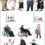 DoschDesign 2D Viz People Seniors & Handicapped