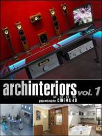 Evermotion Archinteriors for C4D vol 1