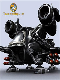 TurboSquid Sci-Fi Dropships collection