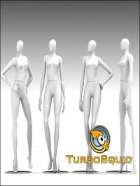 TurobSquid 3D Mannequin 401