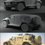 Hawkei Australian ADF Light Armored Patrol Vehicle