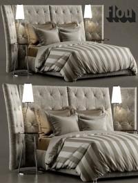 Bed ANGLE flou