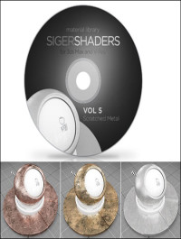 SIGERSHADERS Vol 5 for V-Ray
