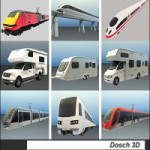 Dosch Design 3D Passenger Transportation