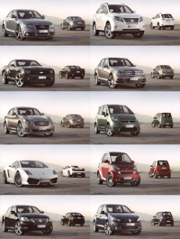PK3DStudio HD Cars Collection Vol 4