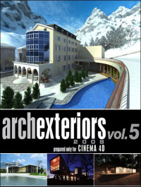 Evermotion Archexteriors for C4D vol 5