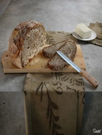 Genova Bread Scenected