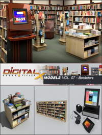 Digitalxmodels Vol 07 Bookstore