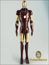 TurboSquid Iron Man Rigged