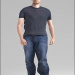 Human Alloy Stefan Walking