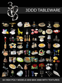 3DDD Tableware Collection