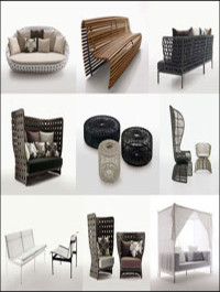 B&B Italia 3D model of Outdoor Furniture