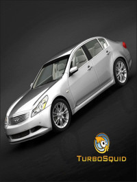 TurboSquid Infiniti G37 Sedan 2009