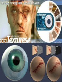 3D Total Textures V4 R2 Humans & Creatures