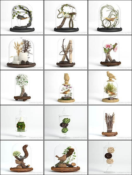 3d66 vol 16 3d models decoration collection vol 3 for 3d model decoration