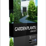 CGAxis Models Volume 19 Garden Plants