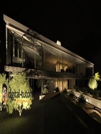 Using Exterior Lighting to Create a Night Scene Rendering in Revit