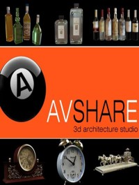 Avshare Bottles Clocks