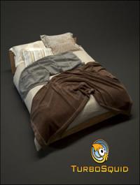 TurboSquid Photorealistic Bed