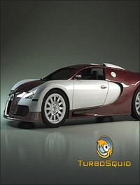 TurboSquid Bugatti Veyron