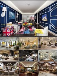 American Style Livingroom Vol 1 3D66 Interior 2015