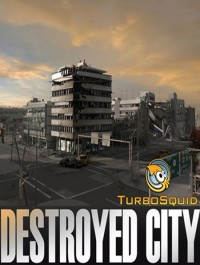 Turbosquid 3D Model: Destroyed City Blocks