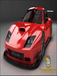 TurboSquid Ferrari 575 GTC