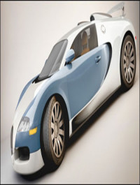 Bugatti Veyron Cinema 4D Model