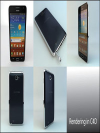 3D Ocean Samsung Galaxy Note