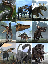 All Dinosaurs 3D Models