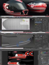 Modeling and Texturing a Low Poly Helmet for Games in 3ds Max
