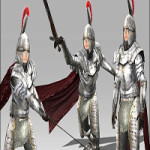 Arteria 3D Female Silveral Knight