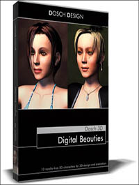 DOSCH DESIGN 3D Digital Beauties