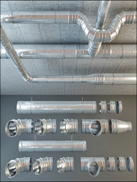 Set Ventilation Pipes