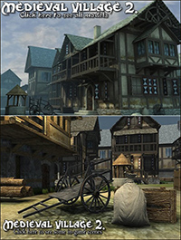 DEXSOFT-GAMES – Medieval Village 2. model pack