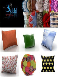 3DDD pillows 3d models