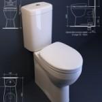 Caroma Prima II toilet