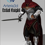 Arteria – 3D Estial Knight [Animated Character]