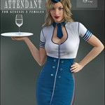 Flight Attendant for Genesis 3 Female(s)