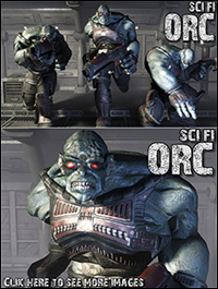 DEXSOFT-GAME Sci-Fi ORC animated character by Sasha Ollik