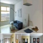Oleg 3d Wood & White Interior Scene