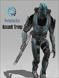 Arteria 3D Assault Trooper [Animated Character]