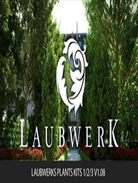 Laubwerks Plants Kits 123 v1.08 C4D and 3DSMAX WIN
