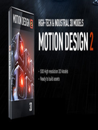 Video copilot Motion Design v2 hight tech & industrial 3d models + 3d Pro shader packet