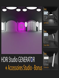Mustapha Fersaoui HDRi Studio GENERATOR for Cinema 4D