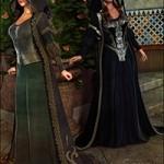 Medieval Princess Gown Textures
