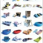 DOSCH DESIGN 3D Kid's Playground