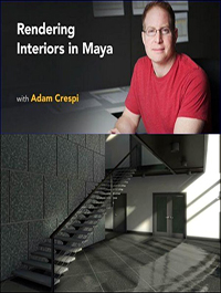 Rendering Interiors in Maya