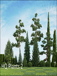 HQ Plants vol.2 for Cinema4D